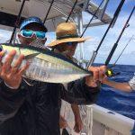 Blackfin tuna caught off Marathon fishing charters