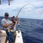 on the rod