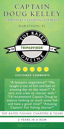 Captain Doug Kelley TripAdvisor Best Florida Keys Fishing Charter Review